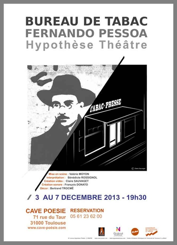 Bureau de tabac pessoa video pour hypothese theatre for Buro de tabac